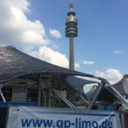 G&P Limousinenservice München Banner im Olympiapark München