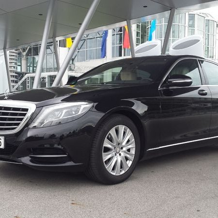 schwarzer S-Klasse Mercedes Limousinenservice München