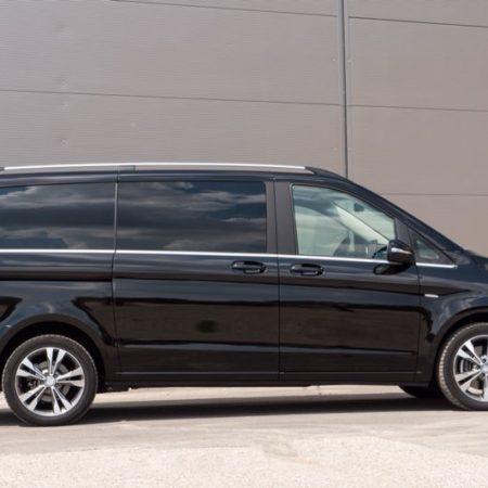 schwarzer Mercedes Van G&P Limousinenservice München
