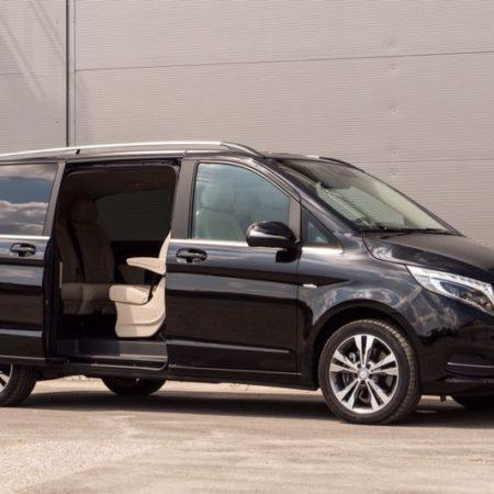 schwarzer Mercedes Van Limousinenservice München