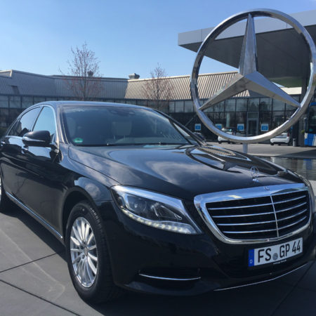 mercedes s klasse Chauffeur Munich