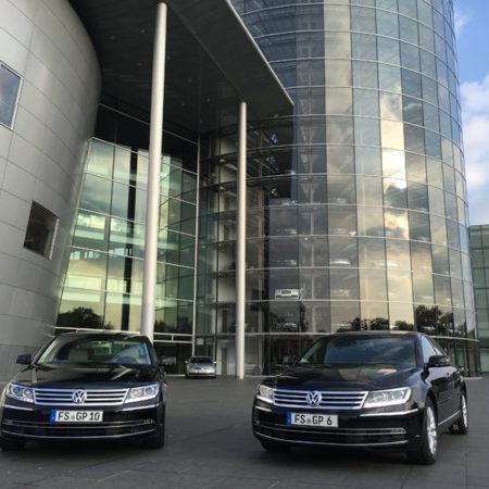 VW Phaeton Limousinen Chauffeur Limousinenservice München